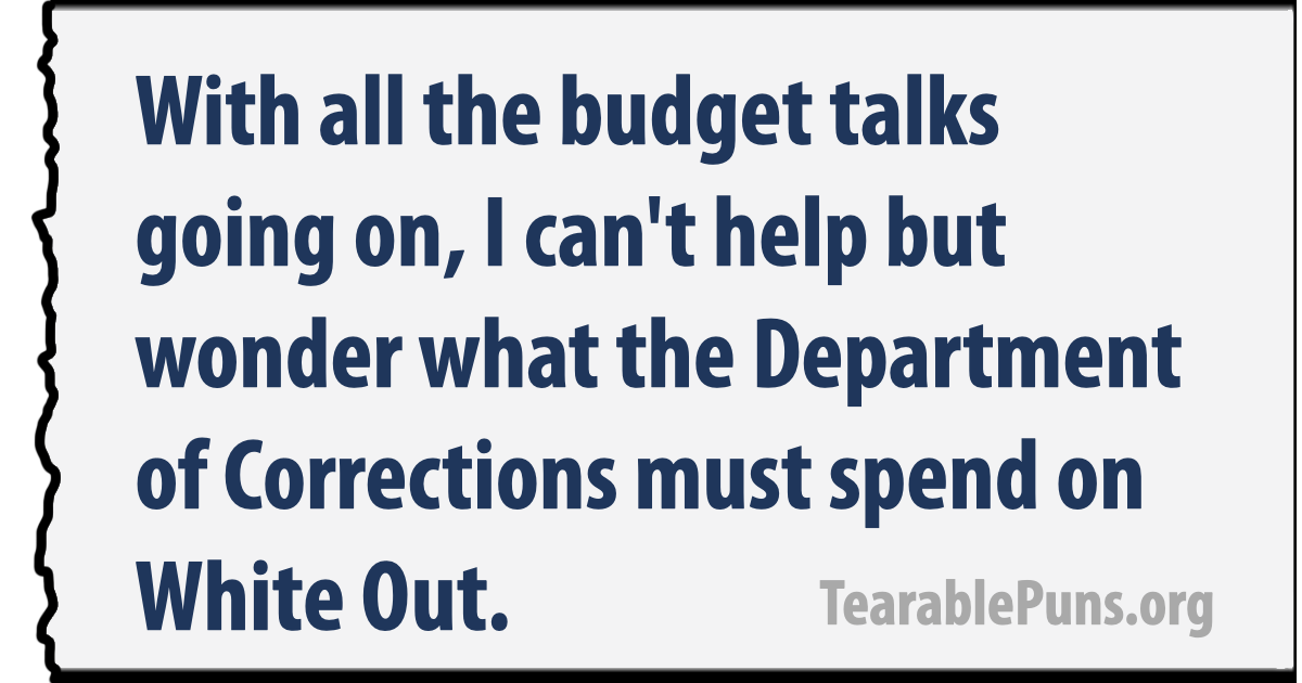 Budget Talks