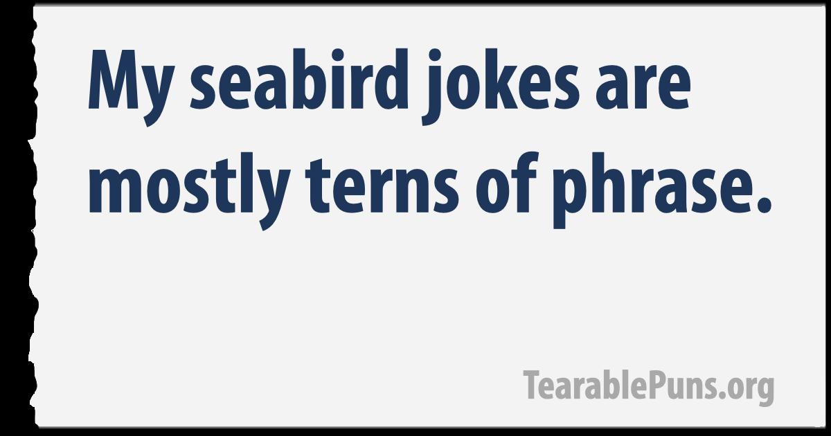seabird jokes