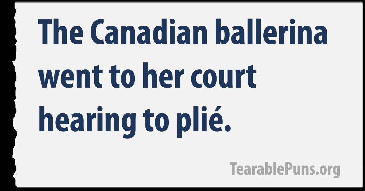 Canadian ballerina