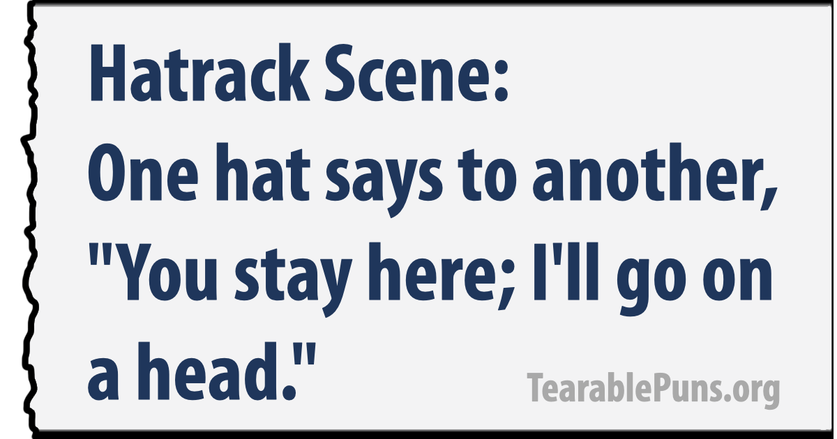Hatrack Scene