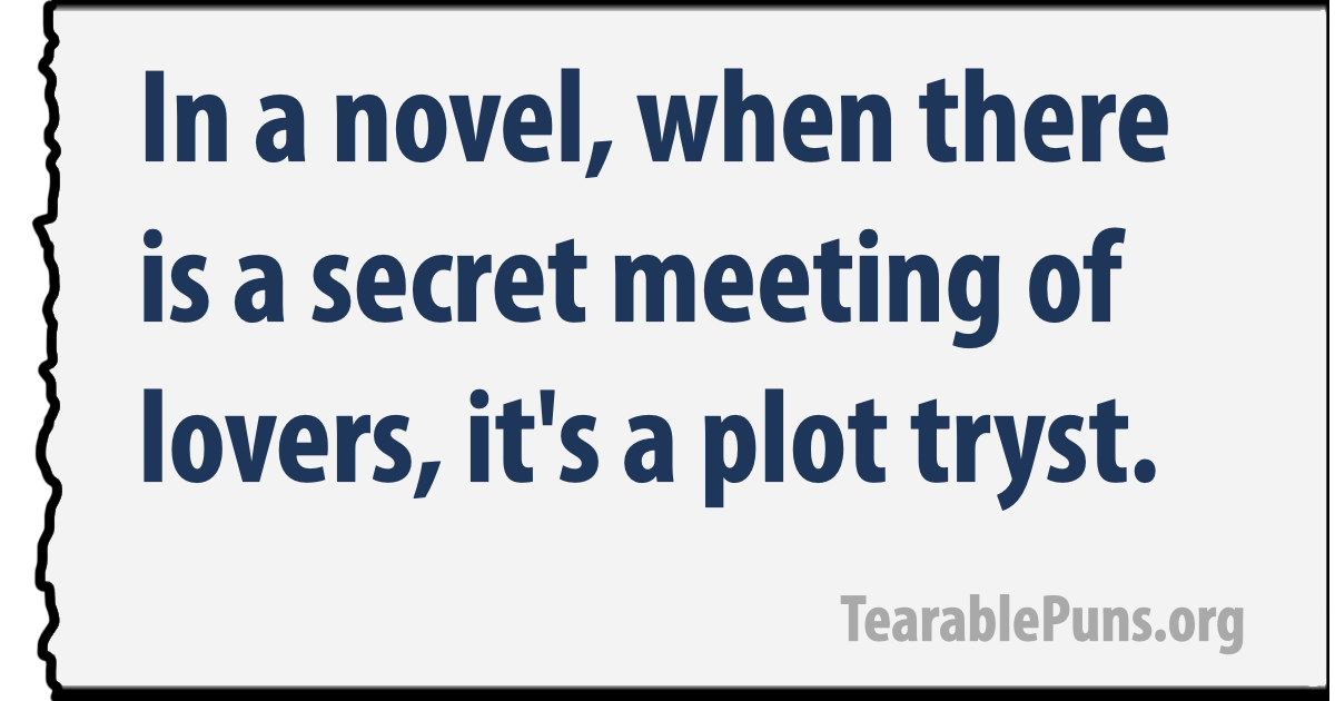in a novel