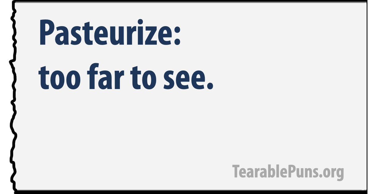 Pasteurize