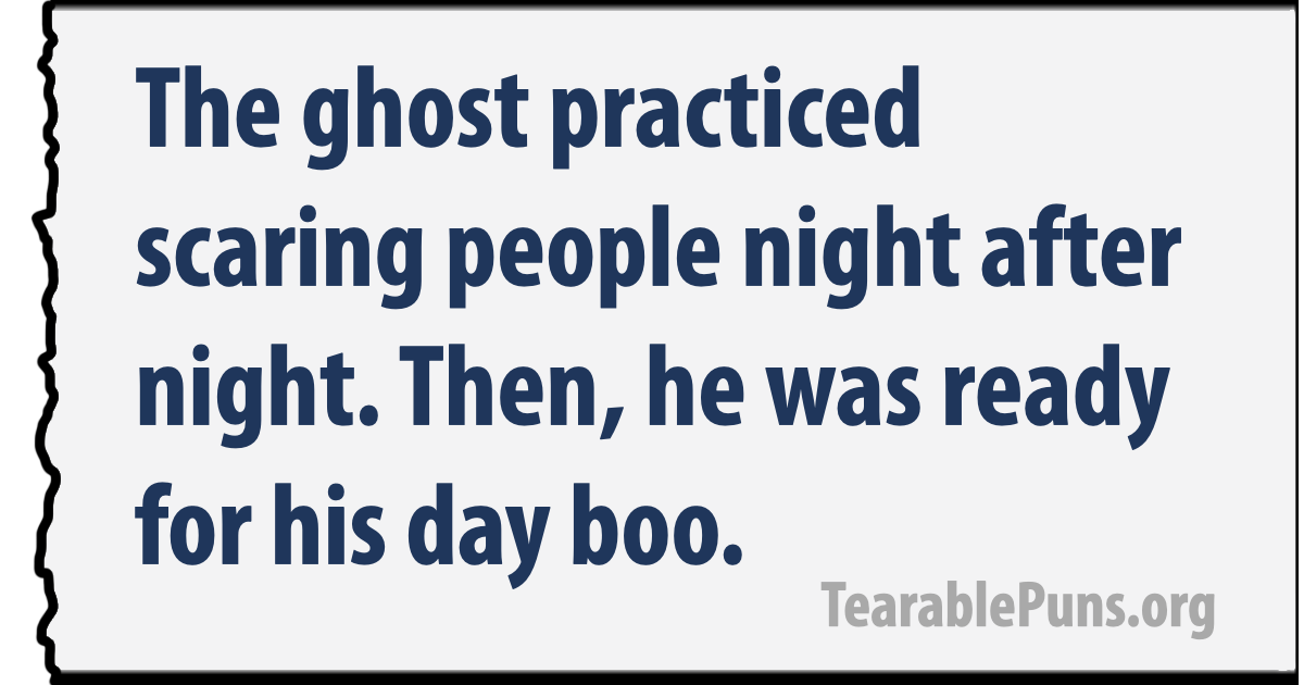 ghost practiced