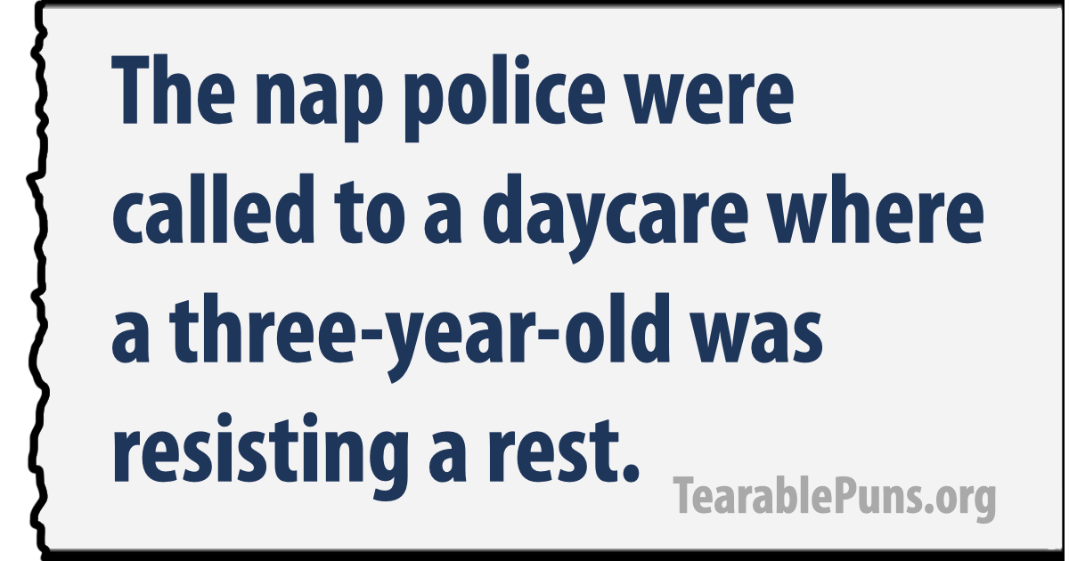 The nap police